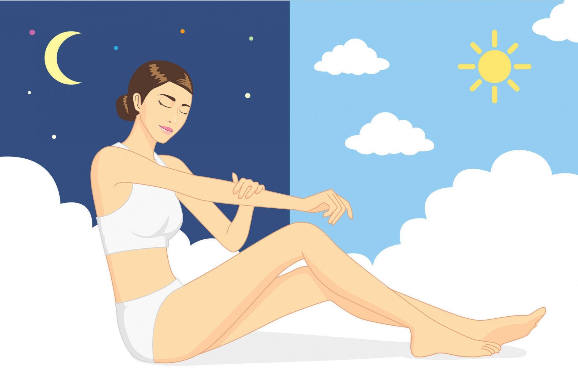 Các bước chăm sóc da ban ngày và ban đêm