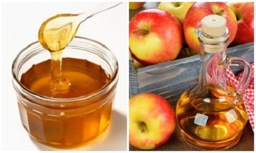 GIấm táo và nước cốt chanh điều trị sắc tố nâu