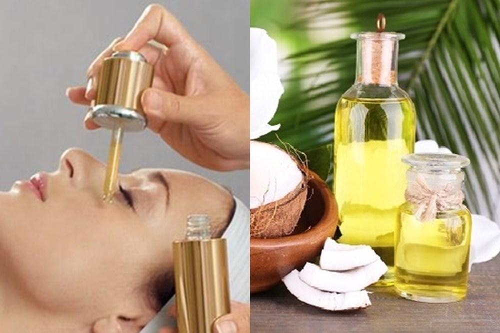 Điều trị mắt thâm quầng bằng dầu dừa
