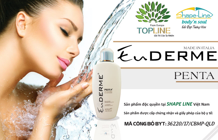 3) Penta Cleansing Gel - Dưỡng da đặc biệt dành cho mọi loại da.