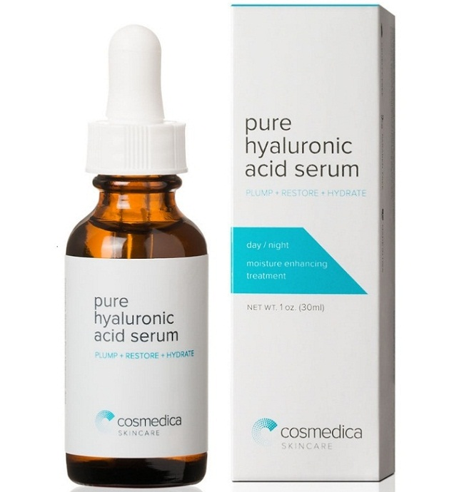 Căng da mặt với Serum Cosmedica Hyaluronic Acid